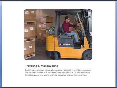 Free Forklift Certification Powerpoint Presentation - YouTube