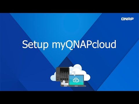QNP201- Set up myQNAPcloud - YouTube