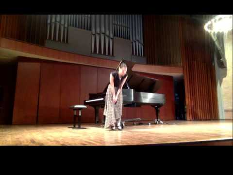 S.S.P.: Marina in recital, live from Mazzoleni hall of the RCM