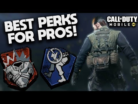 Top 5 BEST Perks in Call Of Duty: Mobile! (these perks will make you like iFerg)