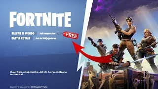 FORTNITE Save the WORLD FOR FREE with DATE 2019 WITH SKINS FOR FREE!