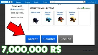 IF I WIN... I GET 21 MILLION ROBUX in ROBLOX!