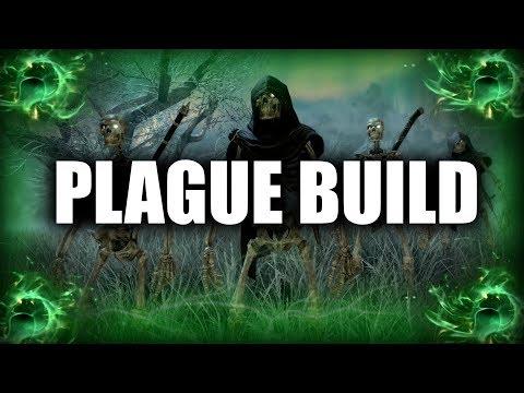 Skyrim SE Builds - The Plague Mage - Disease Magic Necromancer Modded Build