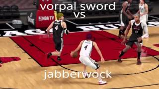 Nba 2k16 Kuroko no basket: vorpal sword vs jabberwock and other