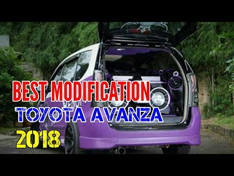 BEST TOYOTA AVANZA Modified 2018