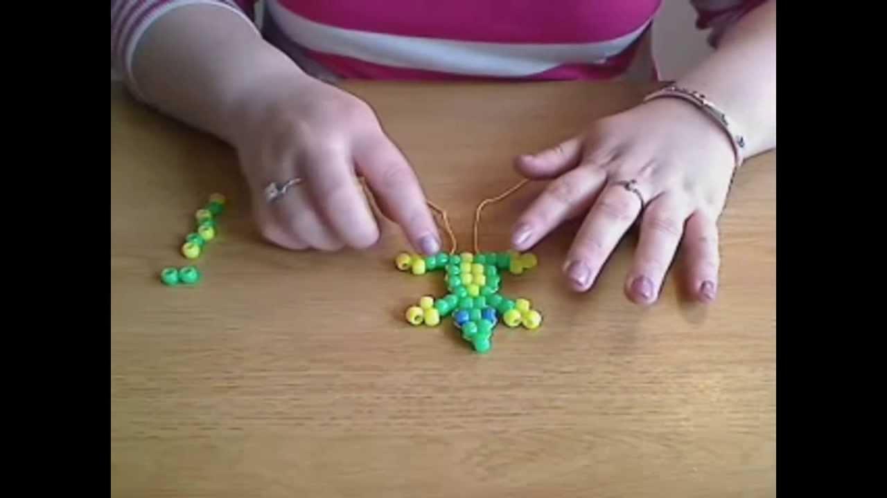 How To Make A Beaded Lizardgecko Youtube