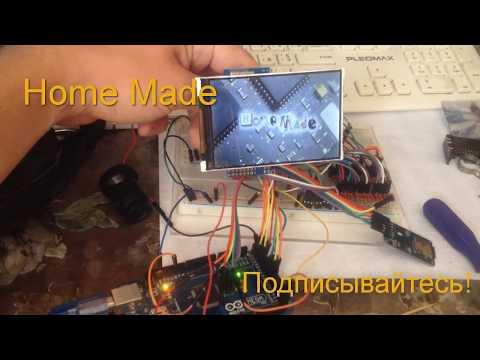 видео: Подключаем дисплей от сотика или мобильного телефона к Ардуино