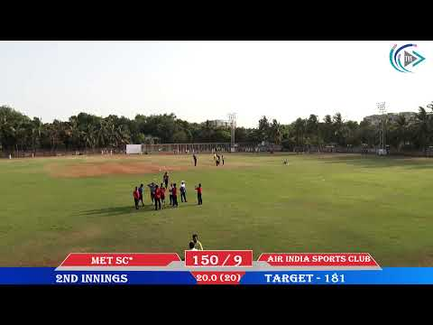 AIR INDIA SPORTS CLUB VS MET SC QUARTER FINALS KNOCK OUT STAGE
