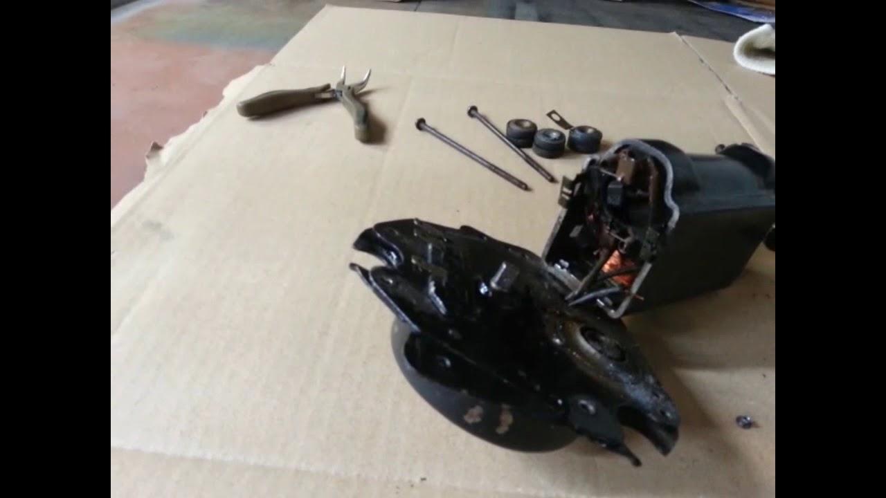 inside a gm wiper motor - 1964-1967 gto wiper motor disassembly