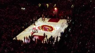 Cleveland Cavs Intro - Christmas Day 2016