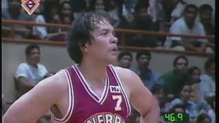Ginebra vs  San Miguel 1996 All Filipino Cup Semis 4th Quarter only Loss