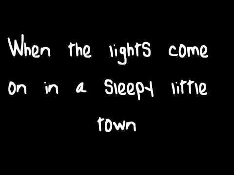 Sleepy Little Town By JT Hodges Lyrics