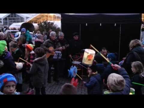 Haubachlerchen singen Martinslieder