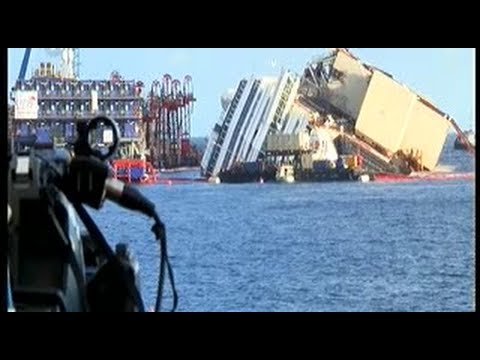 Costa Concordia : l'opération de redressement