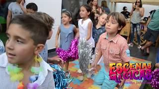 Fiesta Luau Adriano Porcella - Escenas Mágicas eventos infantiles y familiares