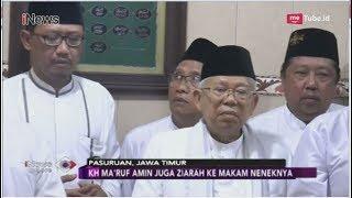 Kunjungi Pasuruan, KH Ma'ruf Amin Bertemu Para Ulama dan Ziarah ke Makam Neneknya - iNews Sore 17/11