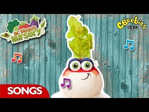CBeebies: Mr Bloom's Nursery - Meet The Veggies Song