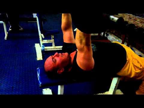 Marcelo Migliore - Triceps jalones con barra Z