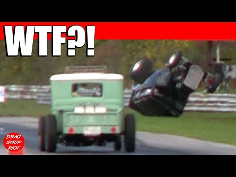 NO!!! 32 FORD CRASHES | WILD RIDES RACE CARS DRAG RACING VIDEO