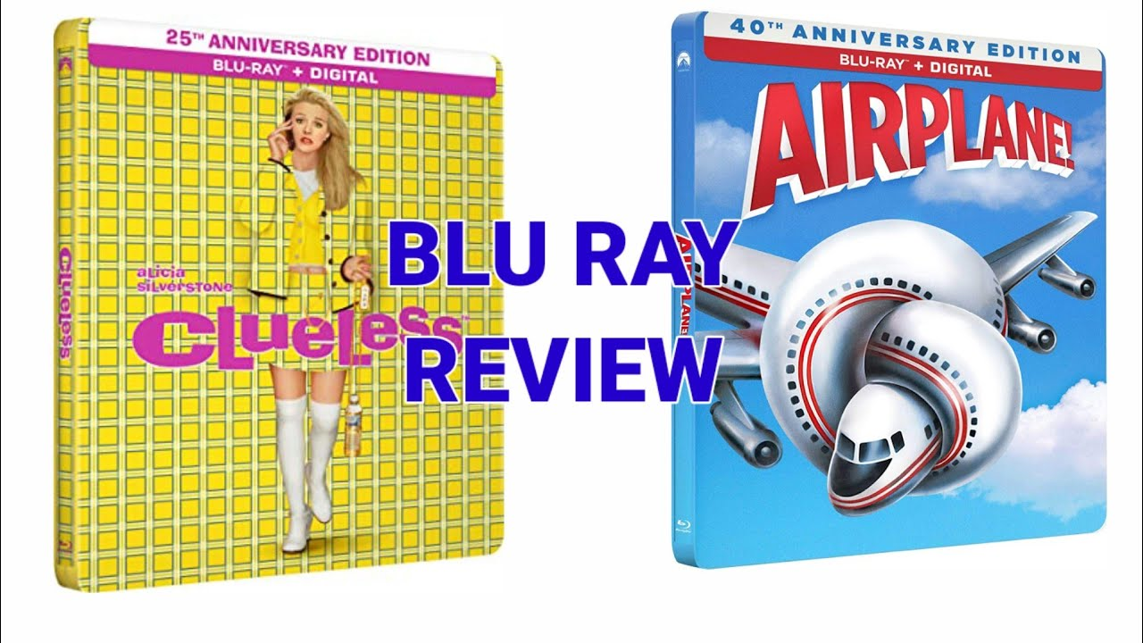 Download Clueless 1995/Airplane 1980 Steelbook Review And Unboxing