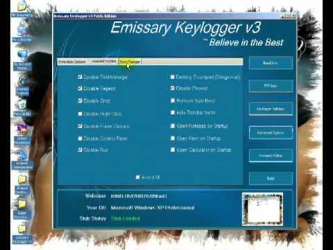 emissary keylogger v3