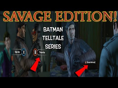 BATMAN: THE ENEMY WITHIN ( EP 3,FRACTURED MASK) SAVAGE EDITION GAMEPLAY #1
