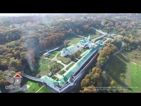 Аэросъемка Печёрского Вознесенского монастыря (Нижний Новгород)