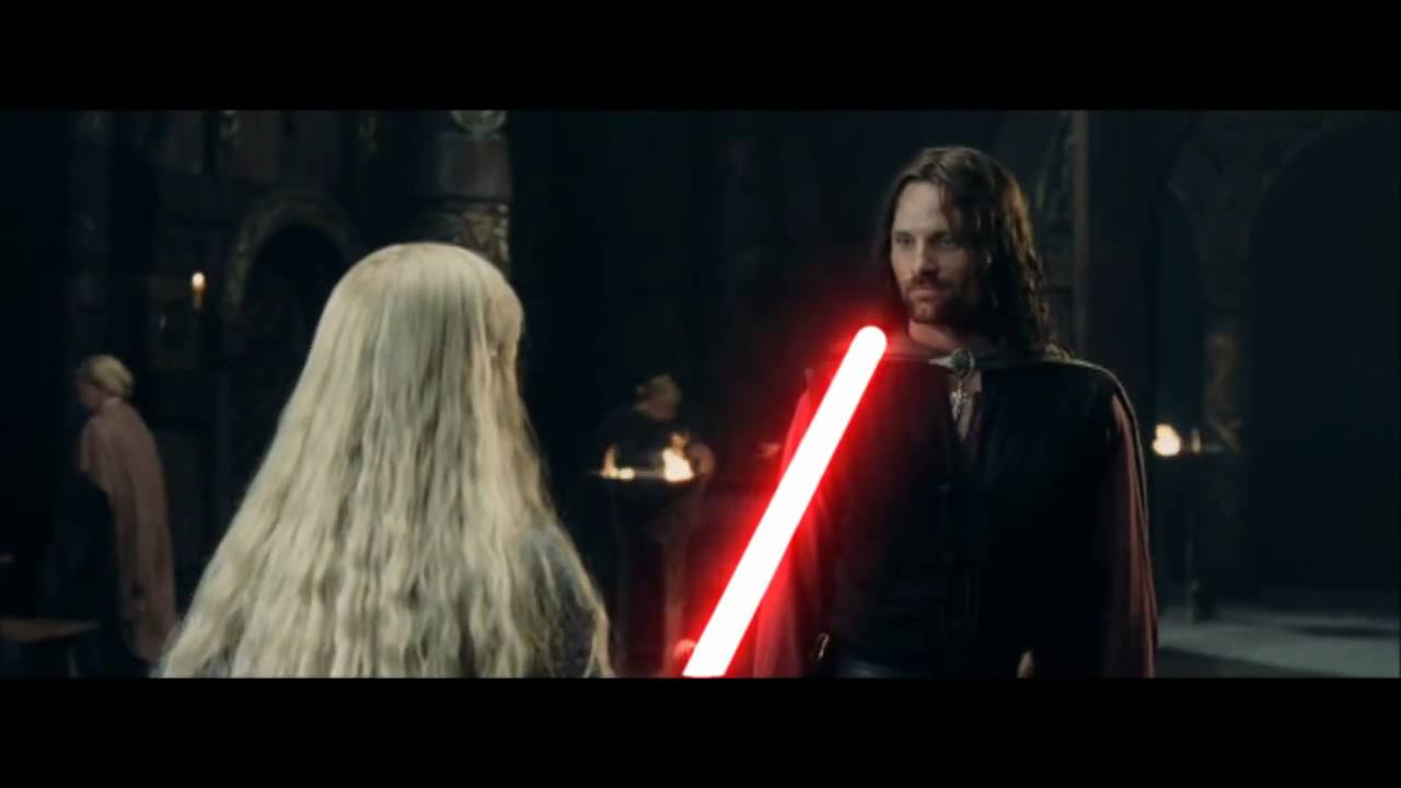 Lord Of The Rings Lightsaber Youtube