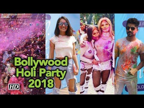 Full Video: Bollywood Holi Party 2018