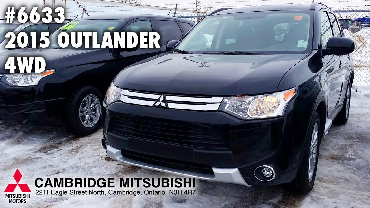 NEW MITSUBISHI OUTLANDER ES AWC Cambridge Mitsubishi - Mitsubishi cambridge