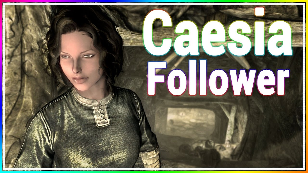 Skyrim Console Mod - Caesia Follower Custom Voiced by LunarGaming
