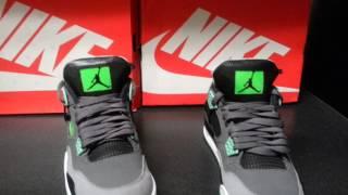 Jordan Green Glow 4 LED
