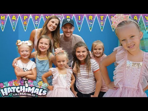 HATCHIMALS BIRTHDAY PARTY! 🎂 Peyton's 5th Birthday Special