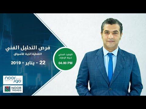 التغطية الحية للأسواق 22 - يناير - 2019