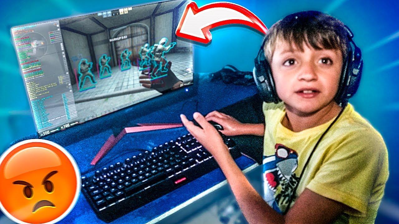 meu irmão usa SCRIPT no CS:GO?? (pego no flagra) [MD10 do pedr1n #02]