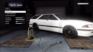GTA 5: FULLY CUSTOMIZED Nissan Skyline R32 (Zirconium Stratum) Los Santos Customs + Gameplay
