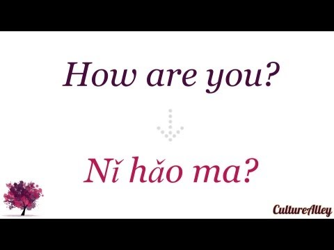 Basic Mandarin Chinese | Lesson 3 | Learn other useful greetings!