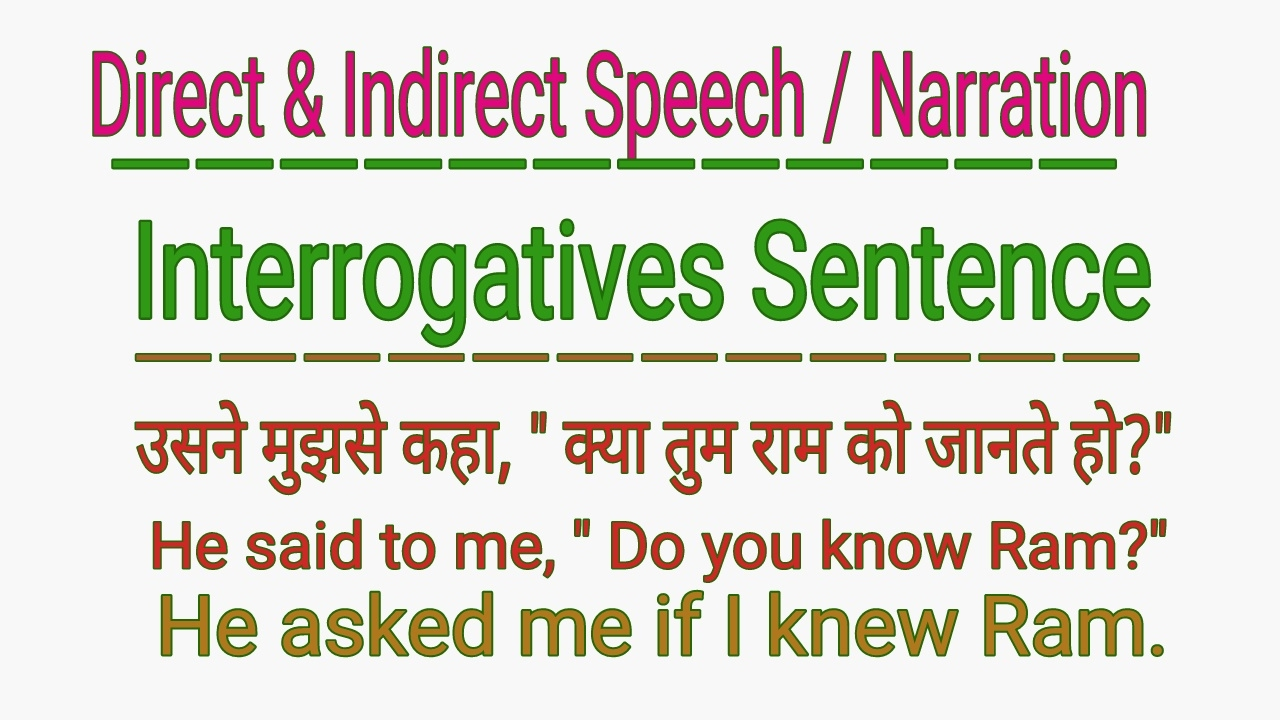 direct and indirect speech in english grammar pdf