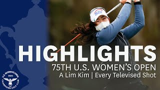 A Lim Kim: Every Televised Shot of Her 2020 U.S. Women's Open Victory