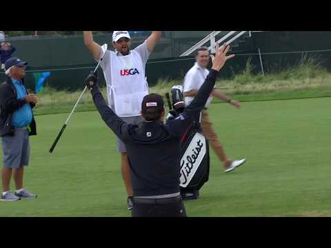 Top 9 Shots From Round 2 Of The 2018 U.S. Open