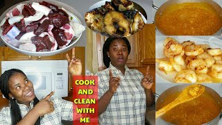 EGUSI AND OGBONO SOUP  HOW TO COOK THE PERFECT NIGERIAN EGUSI AND OGBONO SOUP RECIPE