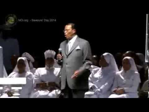 Farrakhan speaks on his meeting with Edgar Bronfman - Saviours Day 2014