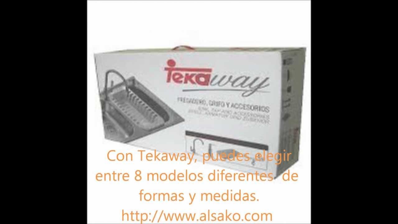 Teka fregaderos cocina fregaderos teka fregaderos tekaway - Cocina encimera teka 4 platos ...