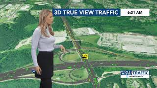 WRAL Traffic Report January 24