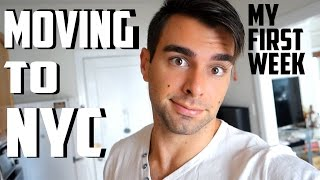 MOVING TO NYC | My First Week