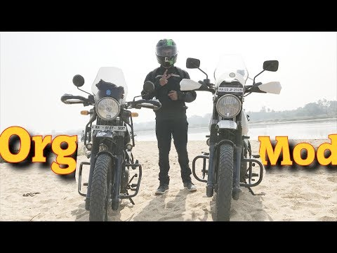 RE Himalayan | Vlog 18 | Modified Himalayan