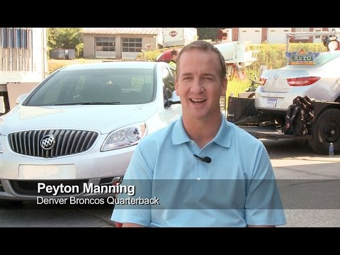Behind The Scenes At A Buick Shoot With Peyton Manning Auto Channel