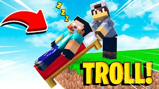 COMO TROLLAR SEUS AMIGOS NO BED WARS!