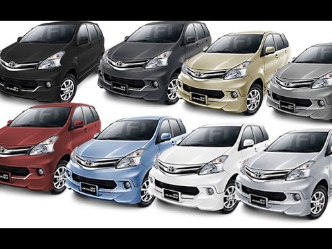 New Avanza In Eight Attractive Colors Youtube