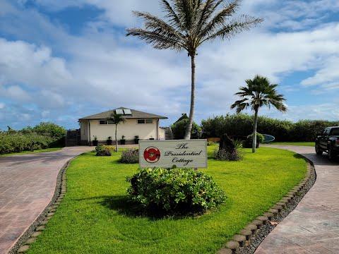 Presidential Cottage, Marine Base Kaneohe, Hawaii, November 2020
